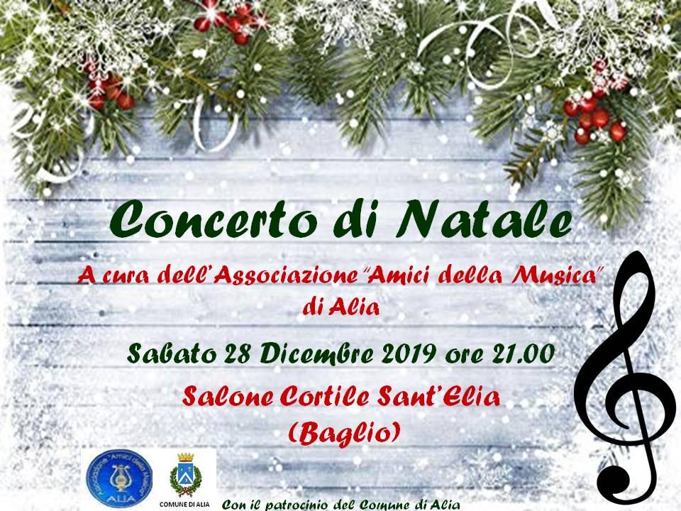 CONCERTO DI NATALE 28 DICEMBRE ORE 21.00