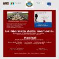 LA GIORNATA DELLA MEMORIA 27 GENNAIO ORE 21:00