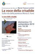 PRESENTAZIONE LIBRO DI MARIA TERESA LENTINI