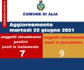 ALIA 22 GIUGNO AGGIORNAMENTO COVID 19