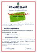 CAMPO DI CALCETTO A/5 (C.da S.Rosalia)