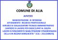 AVVISO PUBBLICO MANIFESTAZIONE DI INTERESSE INCARICO SERVIZIO DI COLLAUDATORE TECNICO AMMINISTRATORE...