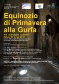 23 MARZO EQUINOZIO DI PRIMAVERA ALLA GURFA.