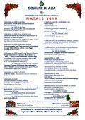 NATALE 2019 CALENDARIO PROGRAMMA MANIFESTAZIONI.